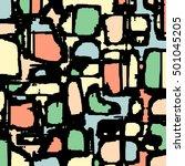 abstract grunge vector... | Shutterstock .eps vector #501045205