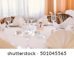 wedding decoration  | Shutterstock . vector #501045565