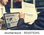 marketing overview research... | Shutterstock . vector #501075241