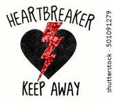 rock slogan graphic for t shirt | Shutterstock . vector #501091279