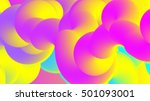 abstract fluorescent colors.... | Shutterstock .eps vector #501093001