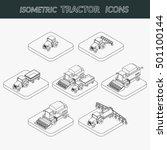 vector illustration. set of... | Shutterstock .eps vector #501100144