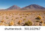 licancabur volcano in the...   Shutterstock . vector #501102967