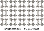 lace background in vector | Shutterstock .eps vector #501107035