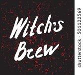 halloween grunge modern... | Shutterstock . vector #501122569