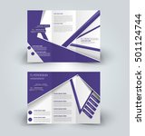 brochure mock up design... | Shutterstock .eps vector #501124744