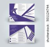 brochure mock up design... | Shutterstock .eps vector #501124744