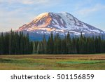 Small photo of Amazing Vista of Mt. Adams in Washington State