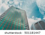 skyscraper building and sky view | Shutterstock . vector #501181447