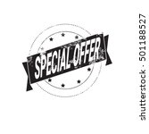 special offer sale discount... | Shutterstock .eps vector #501188527