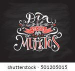 day of the dead vector... | Shutterstock .eps vector #501205015