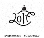 vector illustration of new year ... | Shutterstock .eps vector #501205069