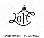 vector illustration of new year ... | Shutterstock .eps vector #501205069