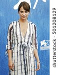 Small photo of VENICE, ITALY - SEPTEMBER 01: Actress Alicia Vikander attends the photo-call of 'The Light Between Oceans' during the 73rd Venice Film Festival on September 1, 2016 in Venice, Italy.