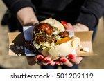 argentina street food ... | Shutterstock . vector #501209119