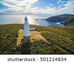 Aerial View Of Bruny Island...