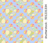abstract geometric colorful... | Shutterstock . vector #501231334