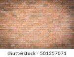 Blurred Brick Wall Background