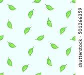 seamless decorative template... | Shutterstock .eps vector #501266359