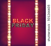 abstract black friday sale... | Shutterstock .eps vector #501266605
