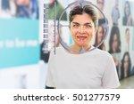 biometric verification  face... | Shutterstock . vector #501277579