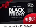 black friday sale banner | Shutterstock .eps vector #501302485