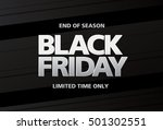 black friday sale banner | Shutterstock .eps vector #501302551