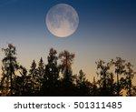Supermoon.full Moon. The Great...