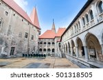 hunyad castle   corvin's castle ...   Shutterstock . vector #501318505
