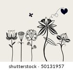 flower | Shutterstock .eps vector #50131957
