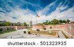 alba iulia  romania   july ...   Shutterstock . vector #501323935