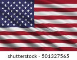 flag of united states of... | Shutterstock . vector #501327565