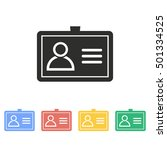 personal vector icon....   Shutterstock .eps vector #501334525