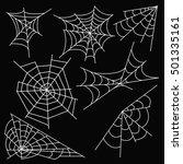 vector illustration halloween... | Shutterstock .eps vector #501335161