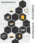 set of infographics elements...