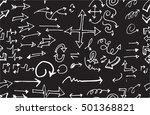 hand drawn doodle seamless... | Shutterstock .eps vector #501368821