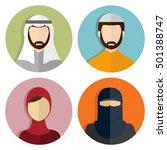 Middle Eastern  Muslim Avatar...