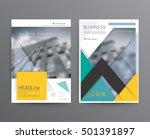 business template for brochure  ... | Shutterstock .eps vector #501391897