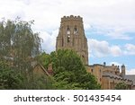 wills memorial building  bristol | Shutterstock . vector #501435454