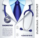 Doctor Stethoscope Vector...