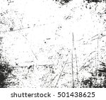 distressed overlay texture of... | Shutterstock .eps vector #501438625
