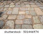 Stone Floor Pavement