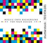 abstract mosaic background from ...