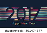happy new year 2017 background. ...   Shutterstock .eps vector #501474877