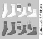 set of socks | Shutterstock .eps vector #501483469