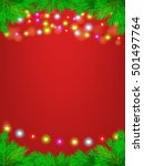 christmas and new years vector...   Shutterstock .eps vector #501497764
