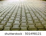 cobble stone street background   Shutterstock . vector #501498121