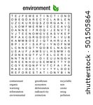 word search puzzle about... | Shutterstock .eps vector #501505864