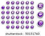 web buttons | Shutterstock .eps vector #50151760