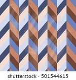 seamless geometric pattern with ... | Shutterstock .eps vector #501544615